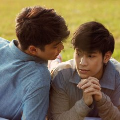 Singto and Ohm elevate each other in the acting department with compelling performances in the ghost-romantic Tv series, He's Coming to Me.