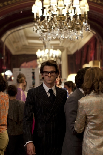 Gaspard Ulliel in Saint Laurent
